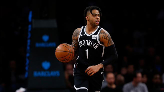 D'Angelo Russell NBA Top 100 Players