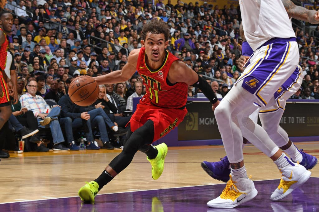 Trae Young NBA Top 100 Players