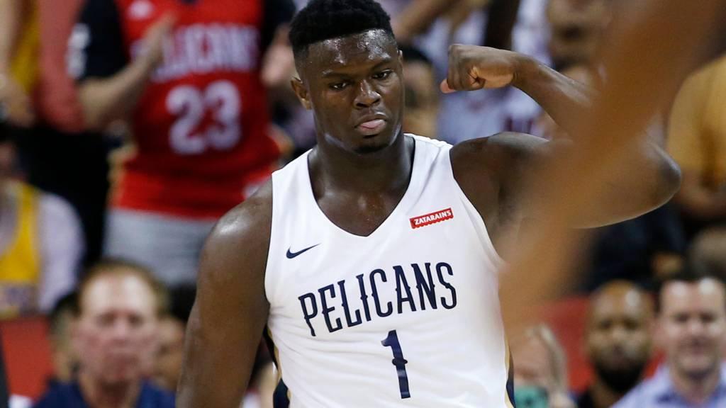 Zion Williamson NBA Top 100 Players