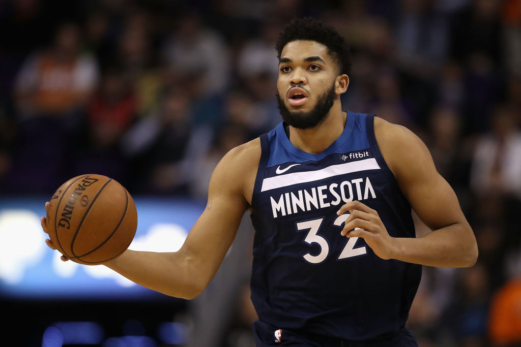 Karl-Anthony Towns NBA Top 100 Players