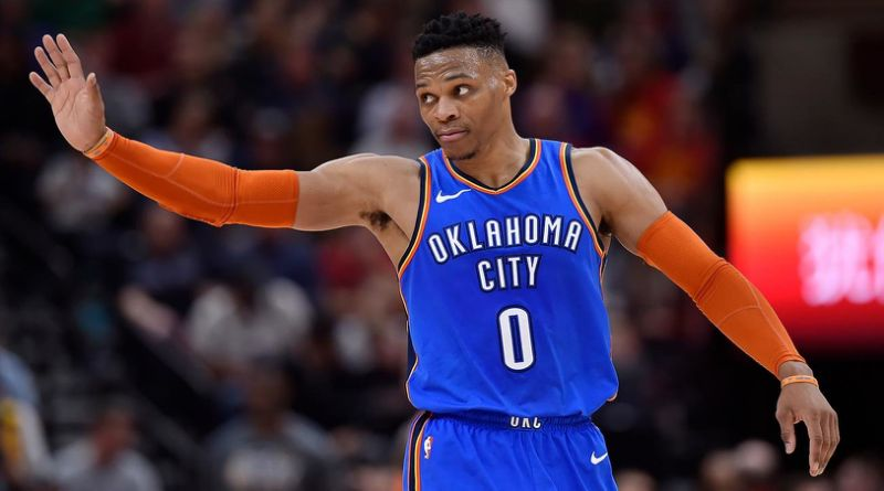 Russell Westbrook NBA Top 100 Players